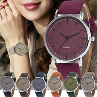 Fashion Casual Women's Watches Men Leather Bracelet Analog Quartz Wrist Watch
