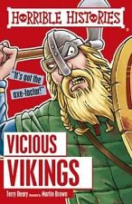 Vicious Vikings by Martin Brown, Terry Deary (Paperback, 2016)