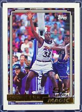 New listing Shaquille O'Neal 1992 1993 Topps Gold Rookie RC Well Centered Sharp Corners