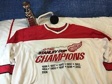 Rare Red Wings jersey shirt redwings XL Xlarge G-III G3 Sports By Carl Banks c11
