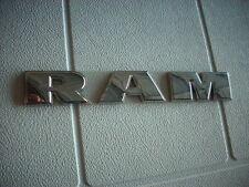 Dodge Ram Door Nameplate Emblem Letters Chrome 2007-2016 1500 Blemished