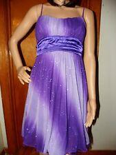 Ruby Rox Prom Dress, Purple, Size Small, Spaghetti Strap