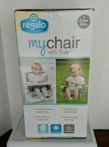 My Chair 2-in-1 Portable Travel Booster Seat & Activity Chair Bonus Kit Includes
