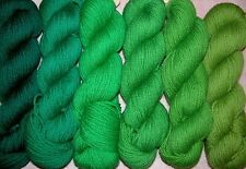 Christmas Green Family New Paternayan Wool 3ply Persian Yarn Needlepoint Crewel
