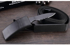Strong Secret Belt with Knife Self Defense Tools Outdoor Camping Saber