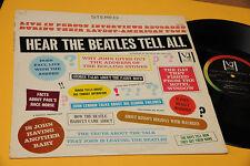 BEATLES LP HEAR THE BEATLES TELL ALL ORIG USA VEE JAY EX COPERTINA CARTONATA !!!