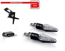 BARRACUDA Portatarga + Frecce SILUR LED + Luce Targa per Ducati Monster S2R