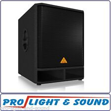 "10%Off with PUSH10 Code: Behringer VP1800S 18"" 1600W Passive Sub Woofer DJ Stage"