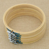 6pcs Embroidery Hoop Round Frame 7 Inch Bulk Wholesale for DIY Craft Making