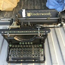 Underwood typewriter no. 5 1920's  HEMINGWAY antique works beautiful