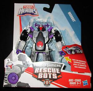 Transformers RESCUE BOTS MORBOT RACECAR Vehicle Playskool Heroes
