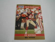 1990 PRO SET FOOTBALL JOE MONTANA CARD #8***SAN FRANCISCO 49ERS***