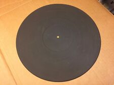 """Akai Rubber Mat for vintage AP-M313 turntable 11.625"""" marked P1032B6030"""