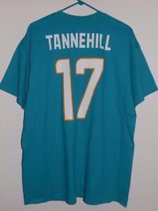 Miami Dolphins t shirt xl Ryan Tannehill name and number aqua NWT
