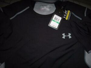 UNDER ARMOUR VENT COOL ZONED TRAINING FITTED SHIRT SIZE XL L M MEN NWT $49.99