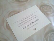 10 x  Wedding RSVP cards