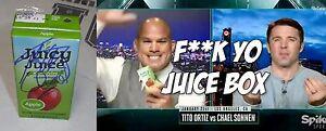 Tito Ortiz Chael Sonnen Signed Juice Box BAS Beckett COA UFC Bellator Autograph