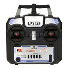 Flysky FS-i4 AFHDS 2A 2.4G 4CH Radio System Transmitter for RC Helicopter Latest