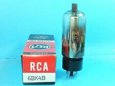 RCA 6BK4B 6EL4A  6EN4  VACUUM TUBE USED TESTS NOS NIB