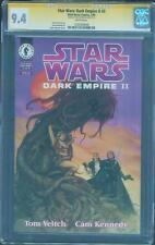 Star Wars Dark Empire II 3 CGC SS 9.4 Dave Dorman Cardstock Cover no 8