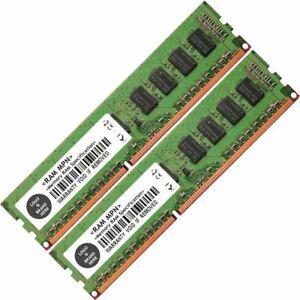 Memory Ram 4 Dell PowerEdge Desktop R210 II R320 R410 R510 R620 2x Lot