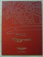 ASTON MARTIN CYGNET Car Sales Brochure Sept 2010 #704721