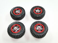 NEW TRAXXAS SLASH 1/10 4X4 ULTIMATE Wheels Red PLATINUM RF27