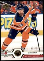 2019-20 Series 2 Exclusives Parallel #439 Sam Gagner /100 Edmonton Oilers