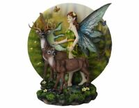 Large Fairy and Woodland Companions Sculpture Statue Mythical Creatures Ornament