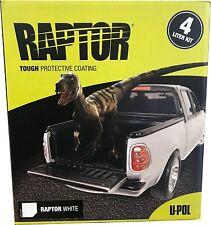 U-POL RAPTOR™ WHITE Truck Bed Liner Kit ( Gun Not Included )