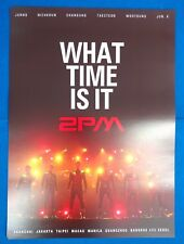 2PM - What Time Is It  Official Poster New K-POP