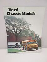 1977 Ford Chassis Models Sales Brochure B-Series E-Series P-Series School Bus