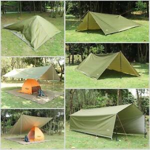 Camping Zeltplane, Tarp für Hängematte, Leicht Tarp Hammock 3M*3M Wasserdicht DE