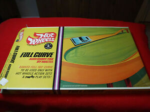 Vintage 1967 Hot Wheels Full Curve Accessory Pak By Mattel Banked Loop In Box