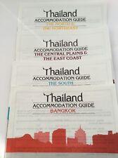 Tourist Bundle - Four Thailand Accommodation Guides - 1991