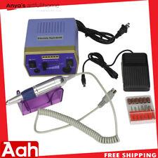 Professional Manicure Electric Drill File Nail Art Pen Machine Kit 30000RPM US