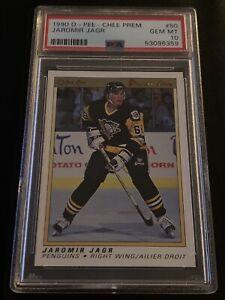 1990 OPC Premier #50 Jaromir Jagr Rookie PSA 10 GEM MINT RC