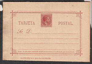 Philippines Filipinas unmailed 3 C De Peso Tarjeta postal card