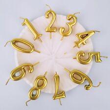 1Stk Geburtstagskerze Ziffern Zahl Wunderkerzen Hochzeit Deko Kuchen Party PD
