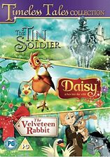 Timeless Tales Triple DVD: Tin Soldier; Daisy; Velveteen Rabbit - Kids Films NEW