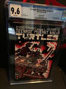 Teenage Mutant Ninja Turtles  #1 LootCrate CGC 9.6 NM+  IDW 2020