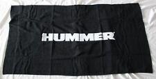NEUF HUMMER SERVIETTE DRAP DE PLAGE BAIN sac drapeau h3 h3t alpha h2 sut h1 limo