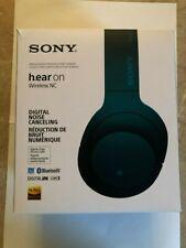 Sony h.ear on Wireless NC MDR-100ABNLM Viridian Blue