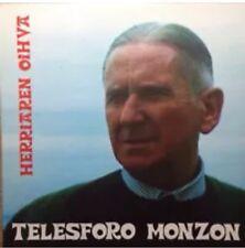 TELESFORO MONZON - HERRIAREN OIHUA 1977 Lp Vinilo Nuevo