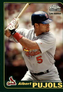 2006 Topps Baseball Rookie of the Week #6 Albert Pujols 01