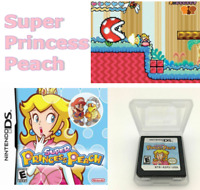 Nintendo DS Game Super Princess Peach 3DS NDSI NDS NDSL USA SHIPPING
