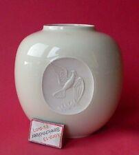 Porzellan-Antiquitäten & -Kunst als Vase mit Vögel-Motiv