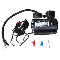 12v Voiture Pompe electrique Compresseur d'air Portable 300 PSI Gonfleur Pneu