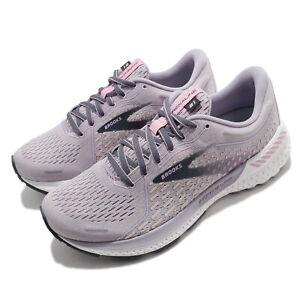 Brooks Adrenaline GTS 21 Purple Grey Women Support Road Running Shoe 1203291B675