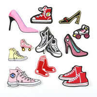 DIY Embroidered Shoes Sew Iron On Badge Patches Clothing Fabric Applique New